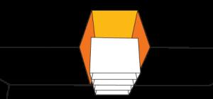 largeur de la niche au fond