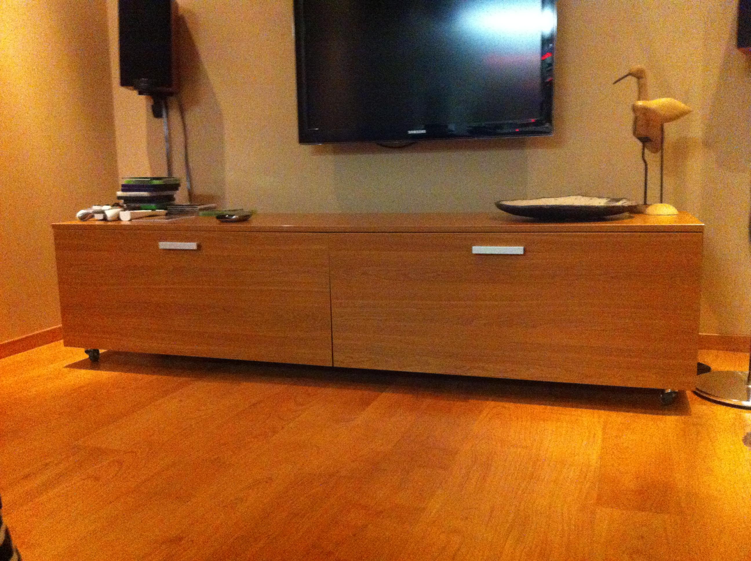 meuble sur mesure TV fabriqué par Quickmeuble