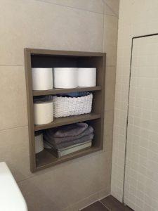 Mobilier sur mesure salle de bain