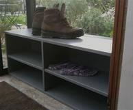 Exemple de petit meuble sur mesure détail