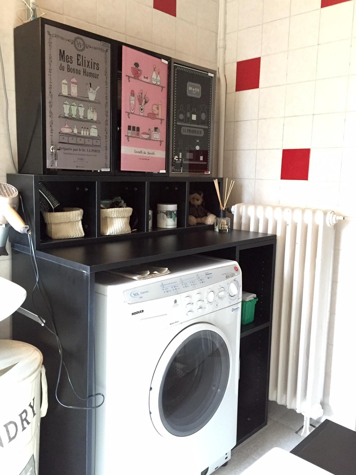 Meuble sur mesure salle de bain quickmeuble - Organiser sa salle de bain ...